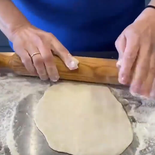 How to make simple pitta bread: Bread making