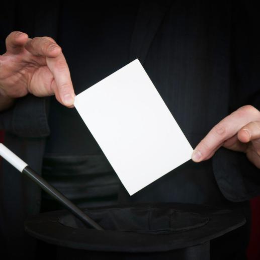 'Pen through card' magic trick revealed