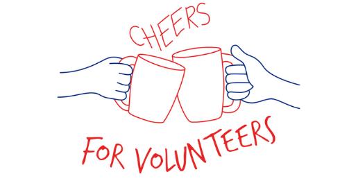 Cheers for Volunteers