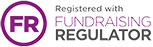 Registered with Fundraising Regulator